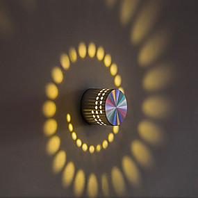 povoljno Sales-Kreativan / New Design LED / Suvremena suvremena Zidne svjetiljke Stambeni prostor / Magazien / Cafenele Aluminij zidna svjetiljka IP44 opći 1 W