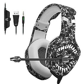 levne Hraní her-onikuma k1 pro herní sluchátka pro mobilní herní sluchátka e-sports s mikrofonem stereo surround usb headset pro PC a notebook