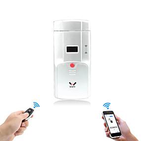 preiswerte WAFU-Wafu Smart Home Fernbedienung Türschloss Handy-Steuerung Smart unsichtbare Bluetooth Türschloss IOS / Android (WF-011U)