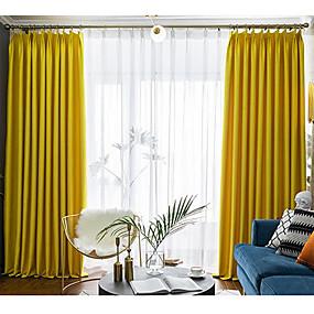 preiswerte Vorhänge und Gardinen-Verdunkelung zwei Panele Vorhang Wohnzimmer   Curtains