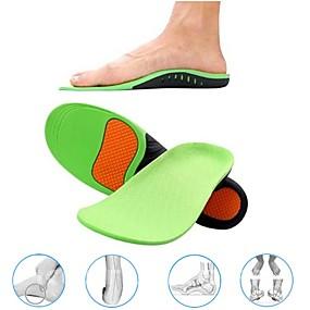 halpa Terveyssetti matkalle-1 pari ortopedisten kenkkien pohjalliset pohjalliset kengille kaari jalkatyyny x / o tyyppi jalkojen korjaus litteä jalka kaari tuki urheilujalkineet