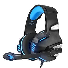 levne Hraní her-kotion každý g7500 herní sluchátka sluchátka s led mikrofonem basová sluchátka pro nový xbox jeden ps4 laptop telefon pc hráč casque