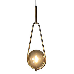 preiswerte Beleuchtung-Mini Pendelleuchten Raumbeleuchtung Galvanisierung Metall Glas Ministil 110-120V / 220-240V