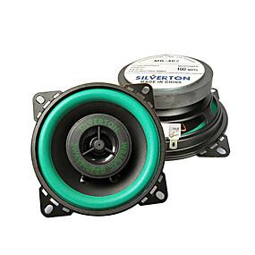 cheap Car Audio-1pcs mk402 Car Audio Speakers Car HiFi Coaxial Speaker Car Audio 5.1 Vehicle Door Auto Audio Music Stereo universal Vehicle loudspeaker modification 4 inch coaxial horn