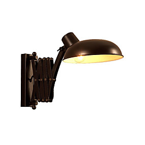 preiswerte Schwenkarm-Lampen-OYLYW Retro / Vintage / Landhaus Stil Wandlampen Wohnzimmer / Schlafzimmer Metall Wandleuchte 110-120V / 220-240V 60 W