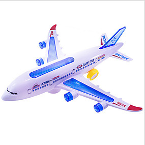 preiswerte Spielzeugflugzeuge-Spielzeug-Flieger Flugzeug Weicher Kunststoff Kinder Vorschule Alles Spielzeuge Geschenk 5 pcs