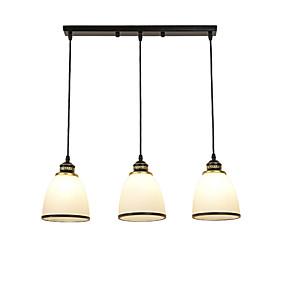 povoljno Lámpatestek-3-Light Klastera / Konyhasziget / zdjela Privjesak Svjetla Ambient Light Slikano završi Metal Glass Kreativan, Prilagodljiv, Divan 110-120V / 220-240V