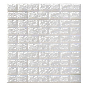 Wall Accents-DIY PE Foam 3D Brick Self-adhesive Wallpaper Wall Art Baseboard Decor Transportation / Landscape Study Room / Office / Dining Room / Kitchen
