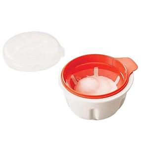 preiswerte Küche & Haushalt-Gedämpfte Eierschale Eierkocher Kochen Pochieren Hülsen Werkzeuge Mikrowelle Backen Tasse