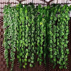 cheap Artificial Plants-Artificial Plants Plastic Party / Evening Vine Wall Flower Vine 1