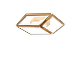 cheap Ceiling Lights & Fans-3-Light 45 cm LED Flush Mount Lights Metal Linear Brushed / Gold LED / Modern 110-120V / 220-240V