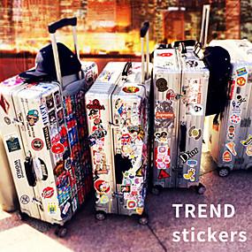 preiswerte Werkzeuge & Zubehör-Sticker & Abziehbilder / Aufkleber für Skateboards 20.0*18.0*0.5 cm cm Trainer für Skateboards Kunststoff 50 Packung