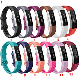 cheap Smartwatch Accessories-Watch Band for Fitbit Alta HR / Fitbit Alta Fitbit Sport Band Silicone Wrist Strap