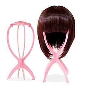 povoljno Alati i dodaci-Wig Accessories Plastika Stalci za perike Špenadle Zgodna pohrana 1 pcs Dnevno Stilski Ružičasta