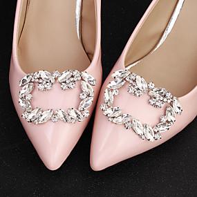 preiswerte Schuhe Zubehör-1 Stück Strass Steine Dekorative Akzente Damen Ganzjährig Hochzeit Silber