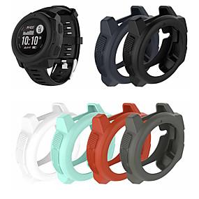 billige Smartwatch Case-Etui til Garmin Instinct Gummin Garmin Watch Beskyttelsesveske