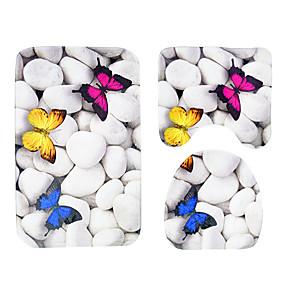 levne Podložky a koberečky-1pc ležérní koupací rohože pvc (polyvinylchlorid) pruhy protiskluzové