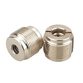 preiswerte Mikrofon-camvate 2 stücke 5/8 stecker auf 1 / 4-20 buchse mikrofonhalterung adapter c1855