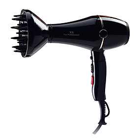 cheap Hair Dryers-Power Folding Handle Hair Dryer Dual Voltage Home Travel Two-Speed Shift Control Overheat Protection