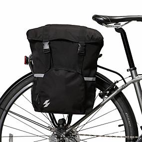 preiswerte Radtaschen-15 L Fahrrad Kofferraum Tasche / Fahrradtasche Wasserdicht Tragbar tragbar Fahrradtasche 600D Polyester Wasserdichtes Material Tasche für das Rad Fahrradtasche Radsport Outdoor Übungen Fahhrad
