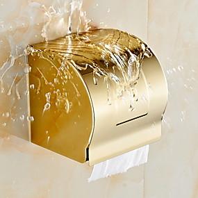 povoljno Držači za toaletni papir-Držač toaletnog papira Kreativan Moderna mesing 1pc Zidne slavine