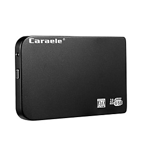 cheap Computer & Office-Caraele H6 USB3.0 Portable Mobile Hard Disk Ultra-thin Metal 1TB