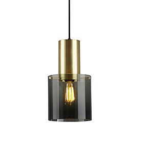 povoljno Viseća rasvjeta-nordijski mini galvanizirani stakleni privjesak svjetlo dnevni boravak spavaća soba blagovaonica hodnik kafić privjesak svjetiljka