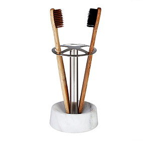cheap Bathroom Gadgets-Tools Creative / Novelty Modern Contemporary Stainless Steel 2pcs Toothbrush & Accessories