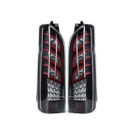 preiswerte Car Signal Lights-12v klar (Paar) von LED-Auto-Rücklicht-Rücklicht-Baugruppe für Toyota Hiace 2005-2017 sequentielle Blinker Nebelscheinwerfer