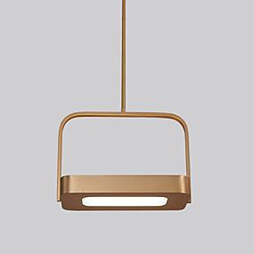 povoljno Lámpatestek-CONTRACTED LED® Konyhasziget / preokrenut Lusteri Ambient Light Electroplated Metal Kreativan, New Design 110-120V / 220-240V Meleg fehér / Hladno bijela