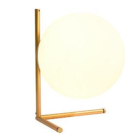 preiswerte Beleuchtung mit Stil-postmoderne individuelle glaskugel schreibtischlampe designer wohnzimmer metall