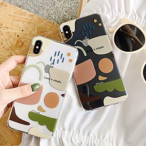 preiswerte Cool & Fashion Hüllen für iPhone-Hülle Für Apple iPhone XS / iPhone XR / iPhone XS Max Ultra dünn / Transparent Rückseite Durchsichtig TPU