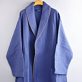 preiswerte Bademäntel-Gehobene Qualität Bademantel, Solide 100% Polyester 1 pcs