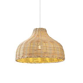 preiswerte Beleuchtung-OYLYW cuenco Pendelleuchten Raumbeleuchtung Lackierte Oberflächen Holz Metall Holz / Bambus 110-120V / 220-240V