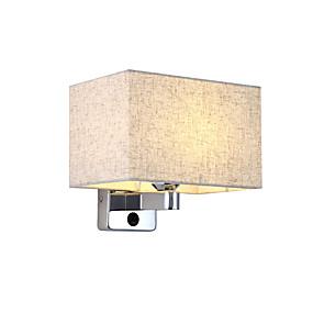 povoljno Lámpatestek-moderne tkanine zidne svjetiljke kuće sconce hodnik spavaća soba Noćna svjetla