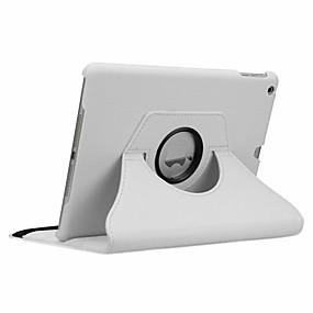 cheap iPad case-Case For Apple iPad New Air(2019) / iPad Air / iPad 4/3/2 360° Rotation / Shockproof / Auto Sleep / Wake Up Full Body Cases Solid Colored Hard PU Leather / iPad Pro 10.5 / iPad (2017)