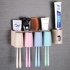 cheap Bathroom Gadgets-Tools Creative Modern Contemporary PP Toothbrush & Accessories
