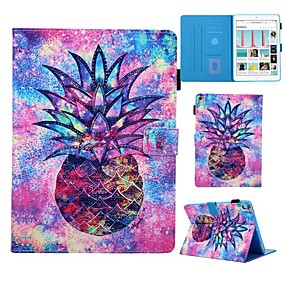 cheap iPad case-Case For Apple iPad Air / iPad (2018) / iPad Pro 11'' Card Holder / with Stand / Pattern Full Body Cases Food PU Leather