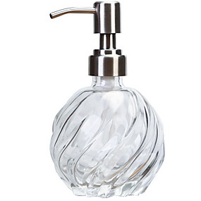 cheap Soap Dispensers-Soap Dispenser Creative Modern Stainless Steel / Iron 1pc Wall Mounted