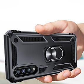 cheap Cellphone Case-Luxury Armor Soft Shockproof Case On The For Samsung Galaxy A70 A50 A40 A30 A20 A10 A20e A9 2018 A7 2018 A8 Plus 2018 A8 2018 A6 Plus 2018 A6 2018 Silicone Car Holder Ring Case