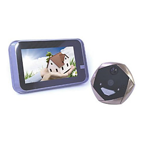 cheap Video Door Phone Systems-Factory OEM WIFI 4.3 inch Hands-free One to One video doorphone