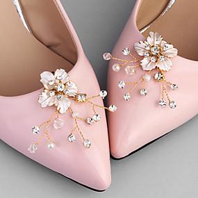 preiswerte Schuhe Zubehör-2pcs Synthetik / Strass Steine Dekorative Akzente Damen Ganzjährig Hochzeit / Alltag Gold