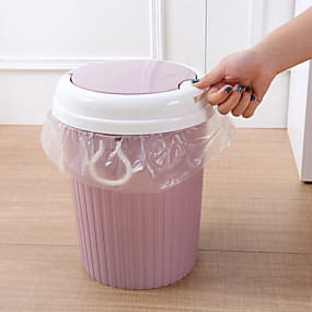 preiswerte Küchen Reinigungsbedarf-Küche Reinigungsmittel Kunststoff Mülleimer Arbeitsutensilien 1pc