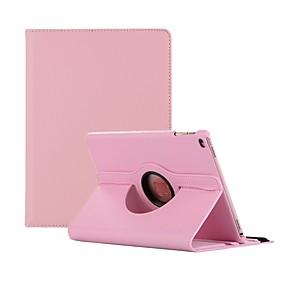 cheap iPad case-Case For Apple iPad Air / iPad 4/3/2 / iPad Mini 3/2/1 360° Rotation / Dustproof Full Body Cases Solid Colored Hard PU Leather / iPad (2017) / iPad Pro 10.5