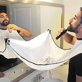 halpa Hiustenhoito ja muotoilu-mies kylpyhuone esiliina musta hartia esiliina hiusten parranajo esiliina miehelle vedenpitävä kukkakangas kotitalouksien puhdistussuoja