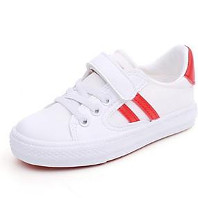 preiswerte Schuhe für Kinder-Mädchen Komfort Leinwand Sneakers Kleine Kinder (4-7 Jahre) Schwarz / Rot / Grün Sommer