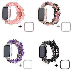 preiswerte Smartwatch-Fall-Etui mit Band für Fitbit versa Keramikkompatibilität Fitbit-Etui mit Band