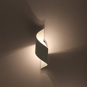 povoljno Lámpatestek-Kreativan / New Design Jednostavan / Suvremena suvremena Spavaća soba / Study Room / Office Metal zidna svjetiljka 110-120V / 220-240V 60 W