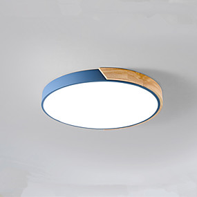 cheap Ceiling Lights & Fans-5-Light 60 cm LED Flush Mount Lights Metal Cylinder Painted Finishes LED / Modern 110-120V / 220-240V