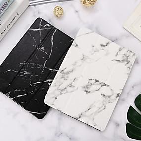 billige iPad case-taske til apple ipad mini 3/2/1 / ipad mini 4 / ipad mini 5 med stativ / flip krop i marmor pu læder